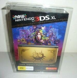 nintendo ds 3DS XL zelda majoras mask hyrule console plastic box protector only