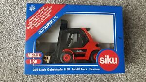 Siku 2619 1/50 Scale Linde Forklift Truck Boxed New
