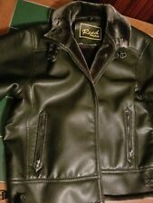 reed leather bomber jacket shearling 4xl