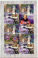 Berg Karabach Armenien 2011 USA Weltraum Shuttle Columbia Kombi Blatt MNH
