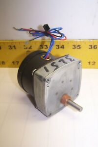 NEW HURST PERMANENT MAGNETIC AC SYNCHRONOUS MOTOR 115 VAC 15 RPM  PB-SP