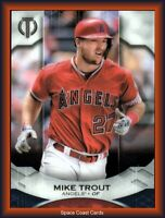 2019 Topps Tribute Mike Trout #1