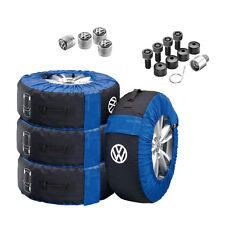 Original VW Räderzubehör-Set Taschenset Ventilkappen Radschraubensatz 000096010