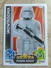 STAR WARS Force Awakens - Force Attax Trading Card #117 Snowtrooper