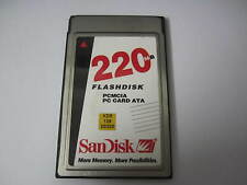 Sandisk  PC Card 220MB Flash disk PCMCIA PC Card