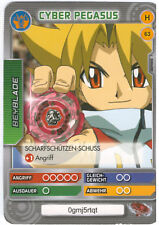 H 63 Cyber Pegasus - DeAGOSTINI Beyblade Battle Card Collection 2011 (6)