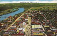 Augusta, GEORGIA - Aerial View - 1950