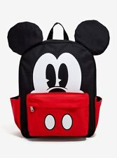 Loungefly Disney Mickey Mouse Face Full Size Backpack ( Large ) Brand New !