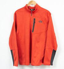 The North Face Fleece Jacket Mens Breathable Orange Size XL
