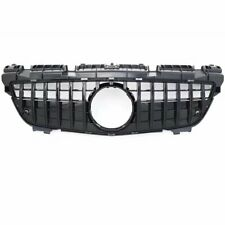 GT Style ABS Front Grille Grill for  Benz SLK Class R172 200 250 350 12-16 Black