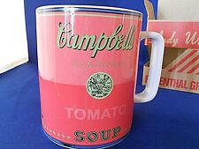 Andy Warhol  Campbell Tomato Soup Mug In Box Rosenthal Group