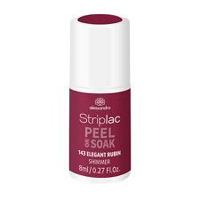 alessandro Striplac Peel or Soak Elegant Rubin Shimmer 8 ml