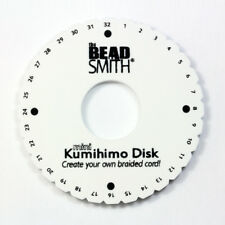 BeadSmith® Kumihimo Mini Disk Creat a Rounded Braid * Braiding Project Tool