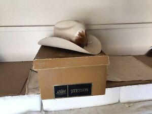 Vintage Stetson 10X (XXXXXXXXXX)  Rancher Cream Beaver 6 7/8 with box