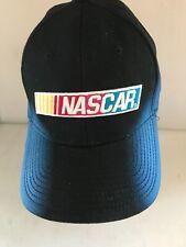 More details for nascar cap blue and black adjustable at the back embroidered