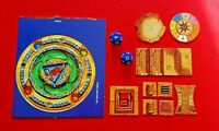Advanced Heroquest 2 Dice & 13 Tiles Thorne Pool Amulet Circle Board Game Bundle
