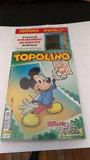TOPOLINO LIBRETTO N.3288 CON FRANCOBOLLI CELEBRATIVI IN METALLO - BLISTERATO