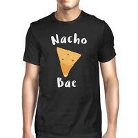 Nocho Bae Men's Black T-shirt Funny Gift Ideas For Valentine's Day
