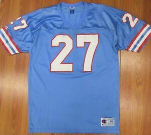 1996-97 VTG #27 EDDIE GEORGE HOUSTON OILERS CHAMPION NFL FOOTBALL JERSEY Sz 48