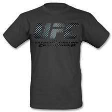 UFC CARBON Shirt Gr. L Schwarz Kickboxing MMA Boxen Fighting Fitness