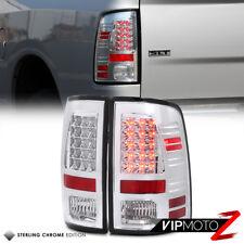Ram 09 2010 2011 2012 13 14 15 16 17 Left+Right Chrome LED Tail Light Lamp Set