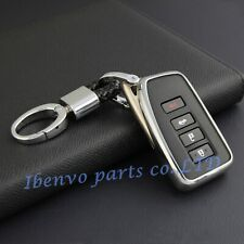 Silver Key Chain Suit Cover For 2014-2019 Lexus IS ES NX RX GS LX RC Accessories