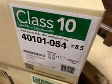 Kimberly Clark CERTICLEAN Class 10 Latex Gloves, Hand-Specific 40101-054 8.5