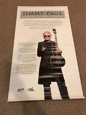 JIMMY PAGE GIBSON CUSTOM SHOP LARGE VINYL BANNER VERY RARE!