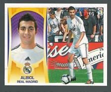 ESTE 2009/2010 ALBIOL 4 REAL MADRID 2ª IMAGEN  CROMO DIFICIL AGOTADO EN PANINI