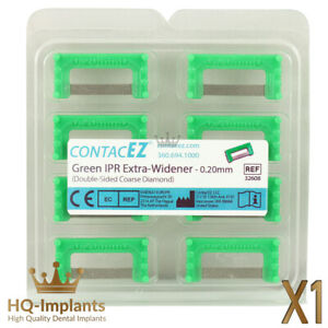 Extra Widener Green IPR Interproximal Reduction Strips Set Dental Orthodontic