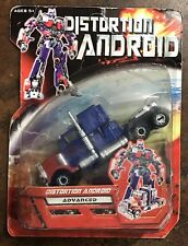 Transformers KO Bootleg Distortion Android Advanced Optimus Prime Movie Knockoff