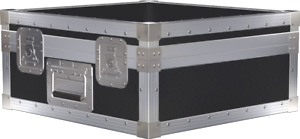 Technics SL1210 Flight Case - Turntable with No Dust Cover - Made To Order