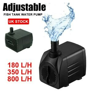 Small Submersible Fish Tank Aqua Water Pump Pond Aquarium Fountain Pump Feature