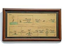 Vintage Johnny Hart B.C. Comic Strip Art 7-25-82 Ant/Anteater Theme