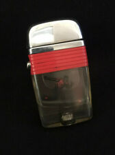 "Scripto Vu-lighter, ""Bowler"" With Orange Band, Excellent Condition, Tested"
