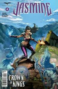 Zenescope Grimm Fairy Tales Jasmine Crown of Kings Issue #4 Cover A Edgar Salaza