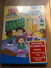 Various Artists: Fisher Price Little People ABCs & 123s Music CD and DVD Set (CD