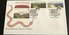 Australia fdc 1993 World Heritage Sites Of Australia