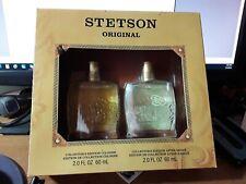 Stetson Original Men's Gift Set Cologne 2 oz After Shave 2 oz Collectors Edition