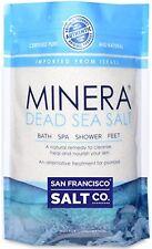 Minera Dead Sea Salt 2lb Bag Fine Grain, 100 Pure Mineral Salt Treatment