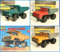 1:43 Tatra 815 S1 Mulden Kipper DDR Russian dump truck OvpNeu USSR UdSSR TERRN°1