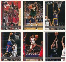 1997/98 Topps NBA Basketball Card Complete Base card Set(110)