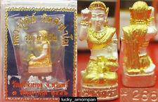 Thai Nangkwak Statue Amulet Trade Luck Rich Wealth Attract Money +Free Shipping