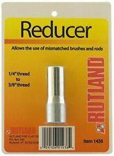 """RUTLAND 1/4"""" x 3/8"""" Chimney Brush Rod and Brush Adapter NEW! #1438"""