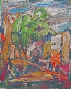 Rudolph J Schmidt Original Oil Painting 1963 -Patzcuaro Mexico