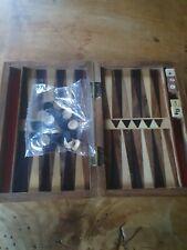 Backgammon aus Holz, klein