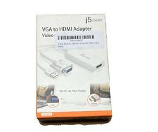 J5 Create VGA to HDMI Adapter Video + Audio  - JDA204