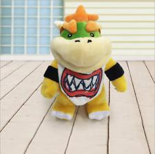 "8"" BOWSER JR. Standing KOOPA Super Mario Bros Plush Soft Toy Stuffed Doll Teddy"