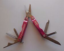 Leatherman Micra Multi-Tool Susan Komen Breast Cancer Ribbon-FREE SHIPPING