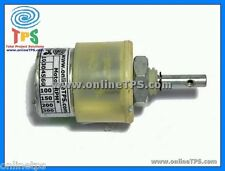 30 RPM Metal Gear Plastic Body Centre Shaft Geared DC Motor Free Clamp Fitting